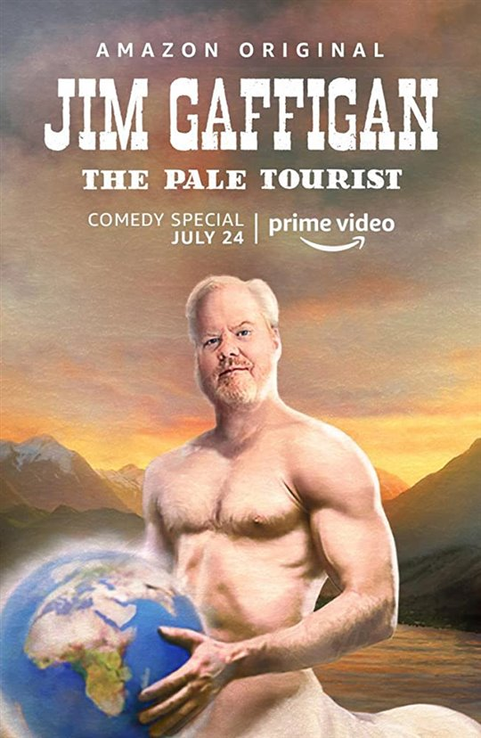 Jim Gaffigan: The Pale Tourist (Amazon Prime Video) Large Poster