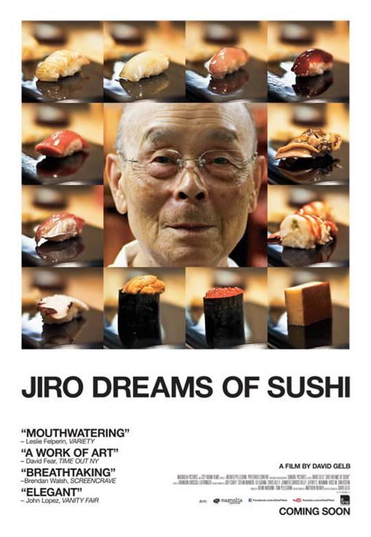 Jiro Dreams of Sushi Large Poster