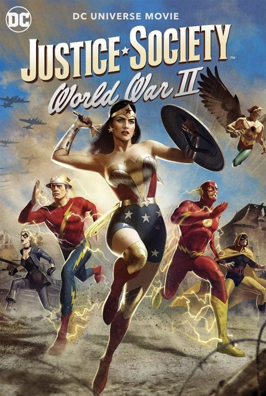 Justice Society: World War II Large Poster