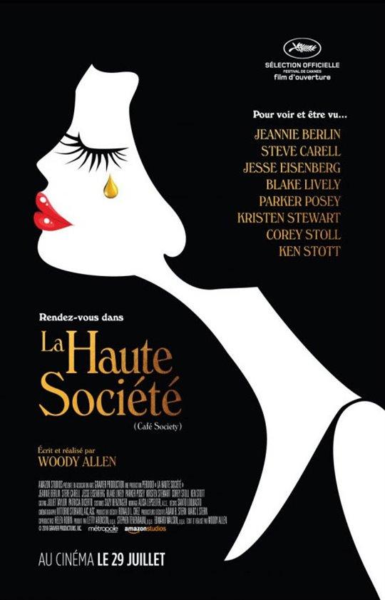 La Haute Société Large Poster