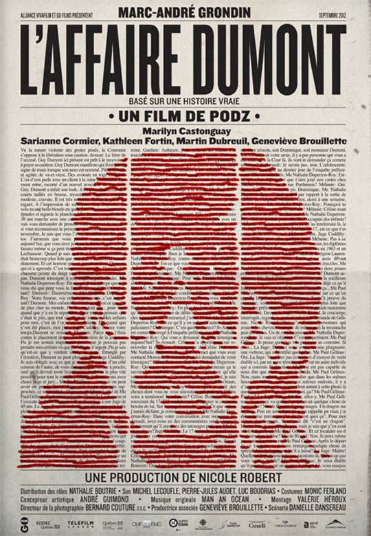 L'affaire Dumont Large Poster