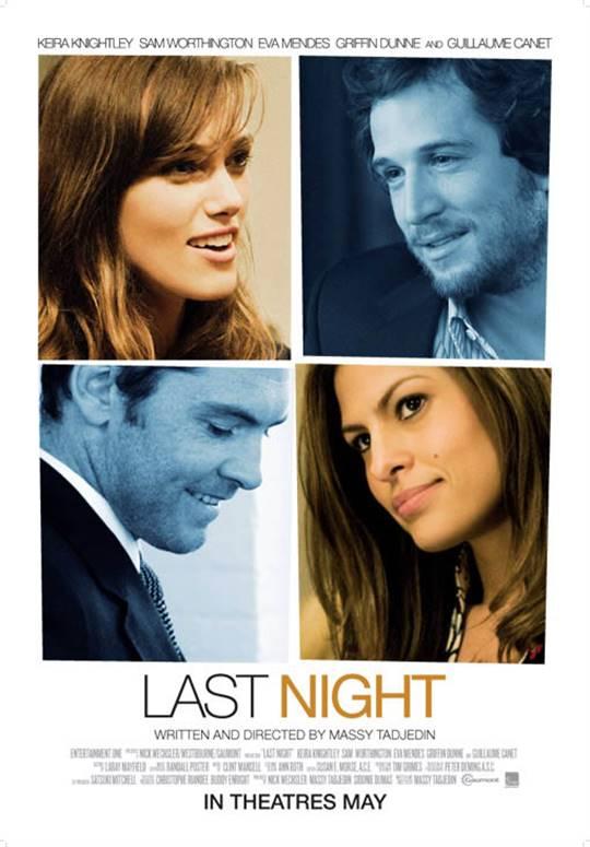 Last Night (2011) Large Poster