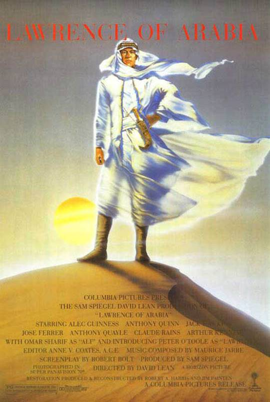 Lawrence Of Arabia Large Poster