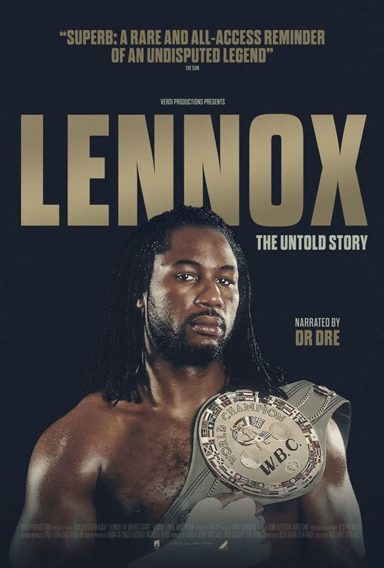 Lennox Lewis: The Untold Story Large Poster