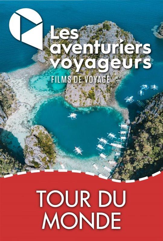 Les Aventuriers Voyageurs : Tour du monde - Tout quitter pour voyager Large Poster