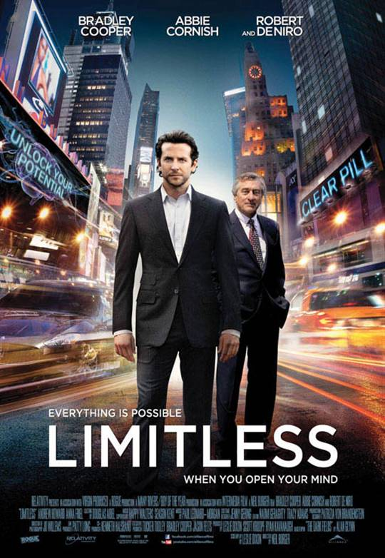 Limitless Large Poster