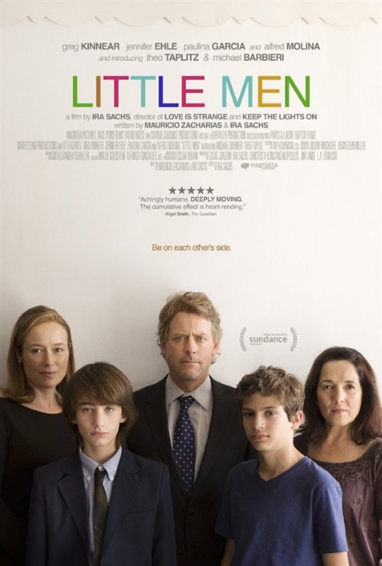 Little Men Large Poster