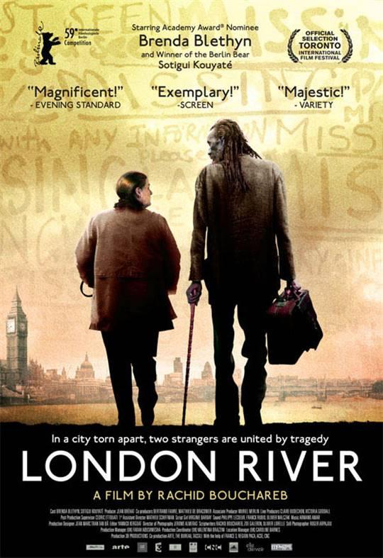 London River Large Poster