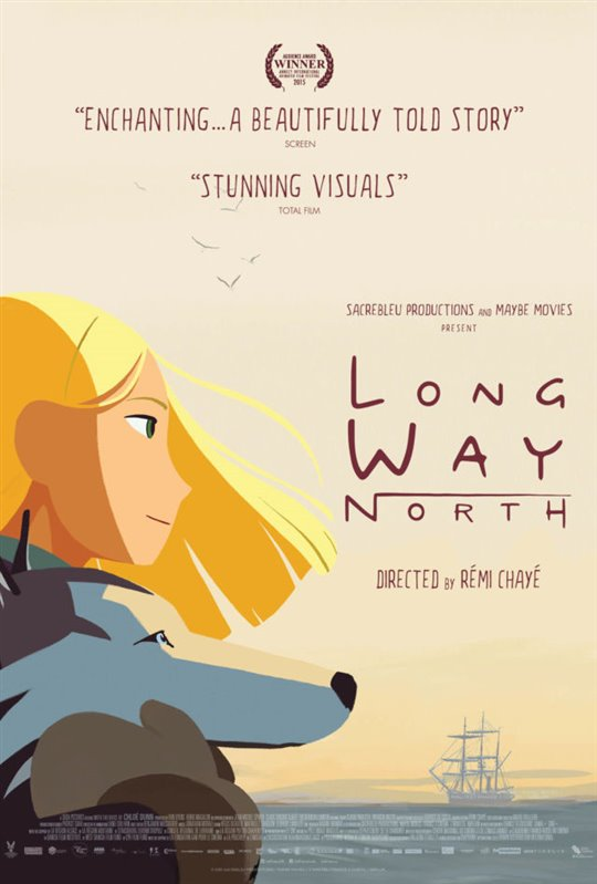 Long Way North Large Poster