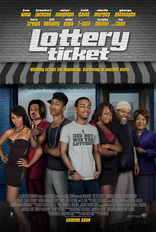 Lottery Ticket Large Poster