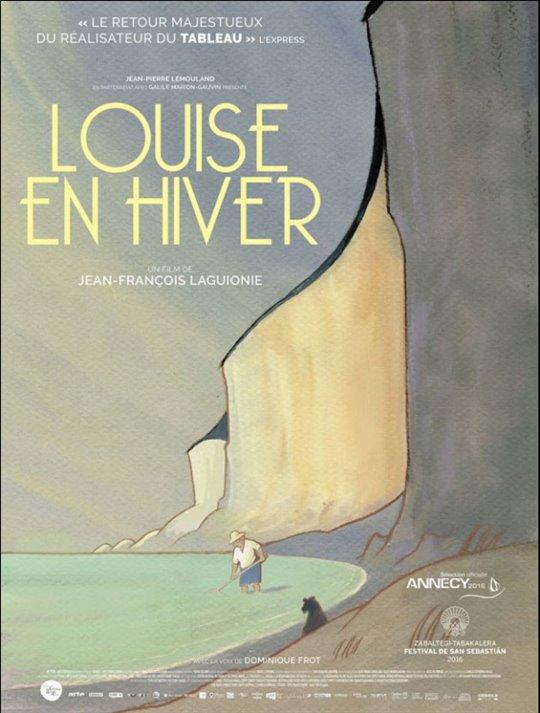 Louise en hiver Large Poster