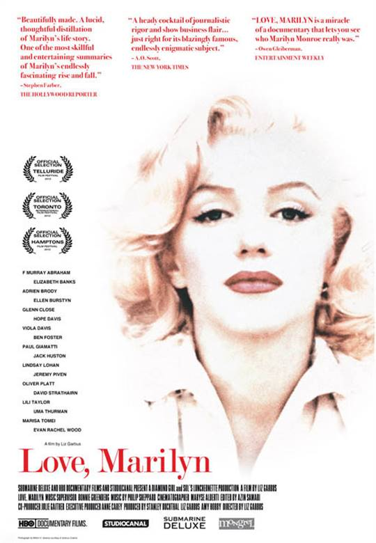 Love, Marilyn Large Poster