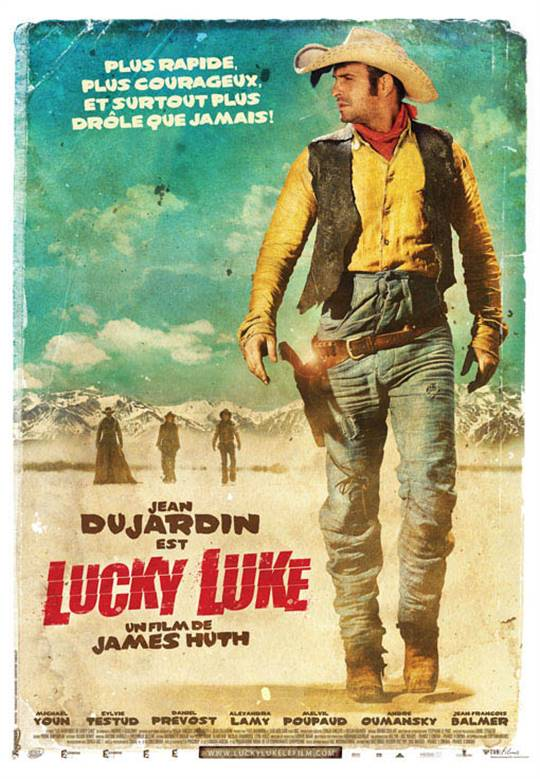 Lucky Luke Large Poster