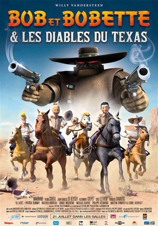 Luke and Lucy & The Texas Rangers Large Poster