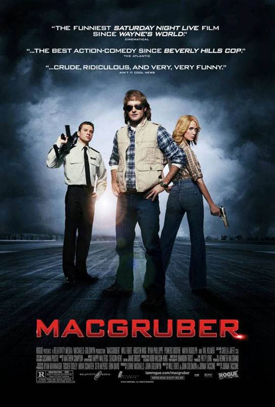 MacGruber Large Poster
