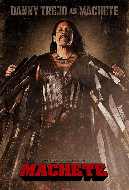 Machete Large Poster