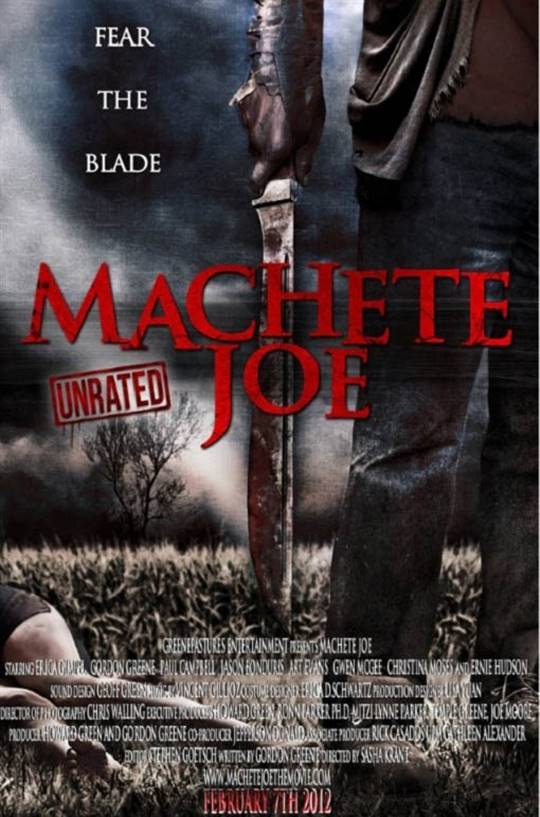 Machete Joe Large Poster