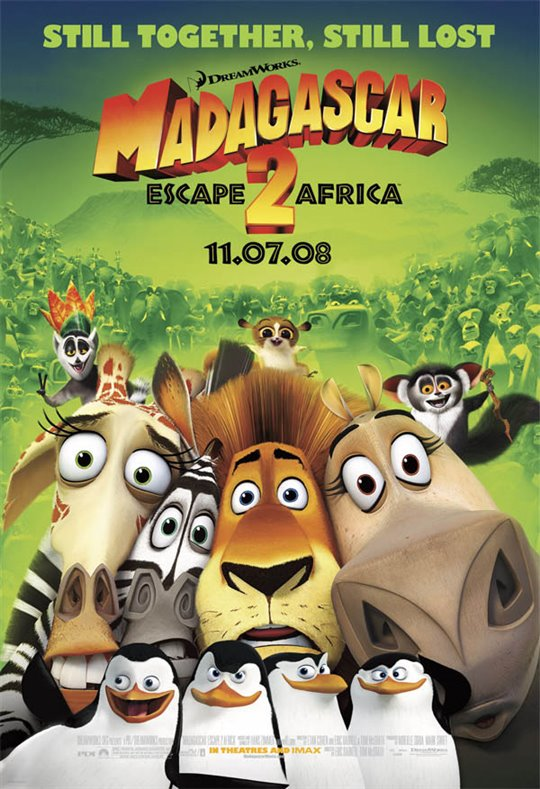Madagascar: Escape 2 Africa Large Poster