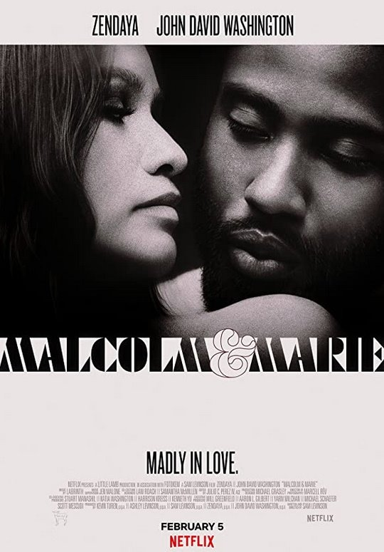 Malcolm & Marie (Netflix) Large Poster