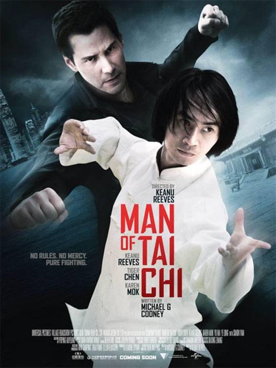 Man of Tai Chi Large Poster