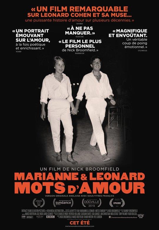 Marianne & Leonard : Mots d