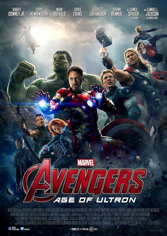 Marvel Studios 10th: Avengers: Age of Ultron (IMAX 3D)