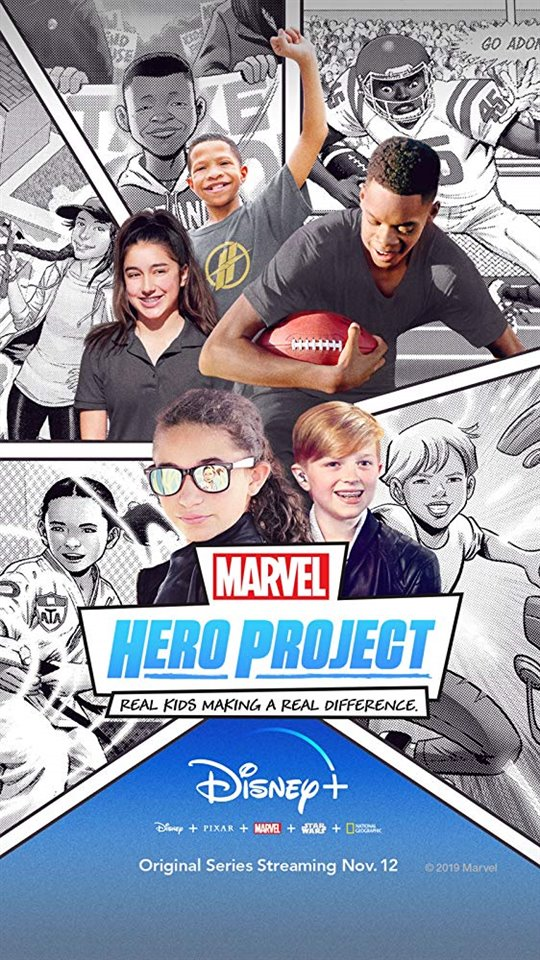 Marvel's Hero Project (Disney+) Large Poster