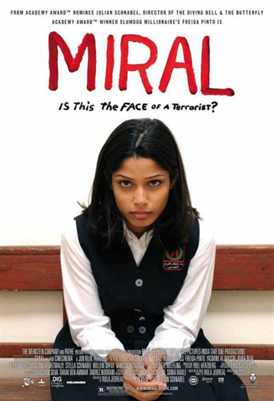 Miral Large Poster
