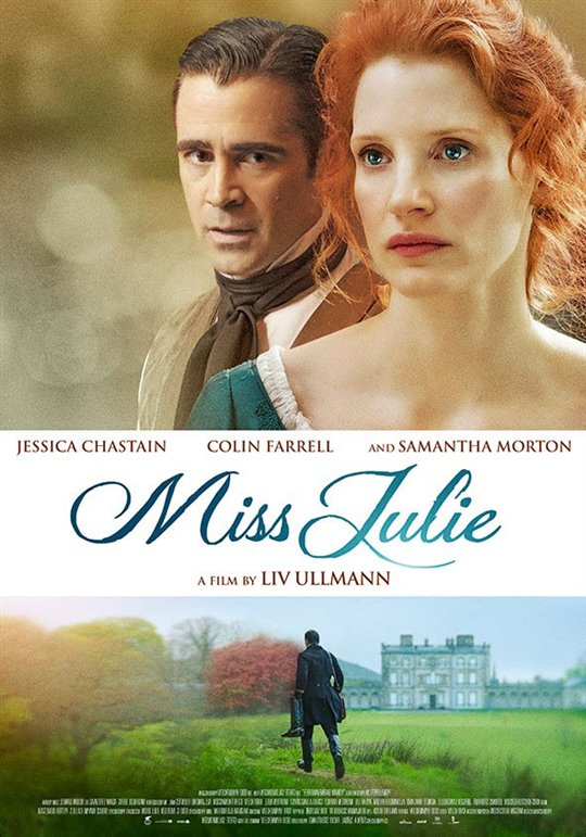 Miss Julie Large Poster