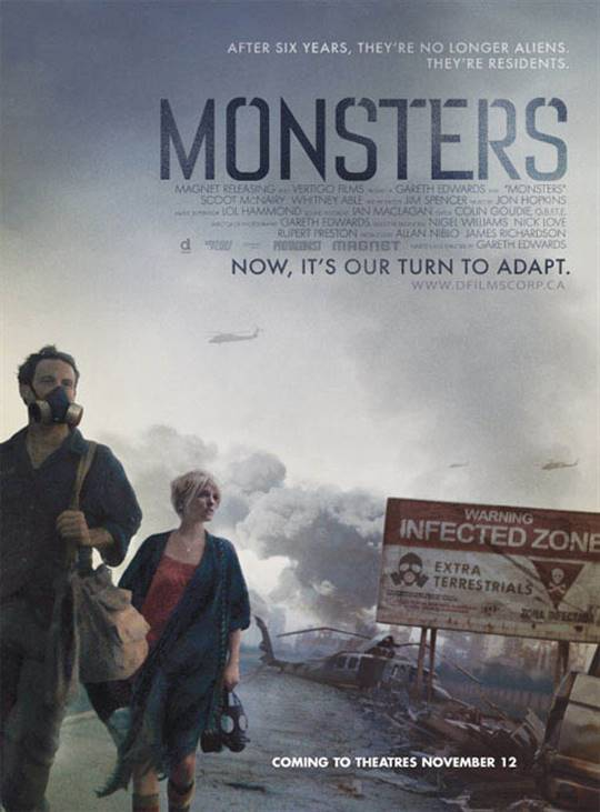 Monsters Large Poster