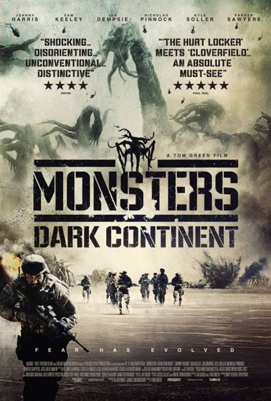 Monsters: Dark Continent Large Poster