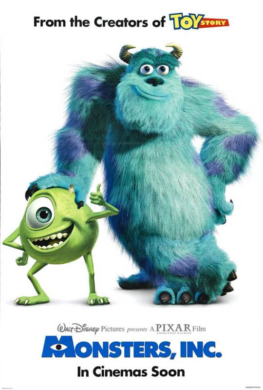 Monsters, Inc. Large Poster