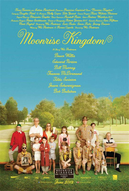 Moonrise Kingdom Large Poster