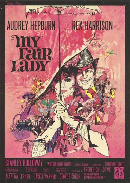 My Fair Lady Large Poster
