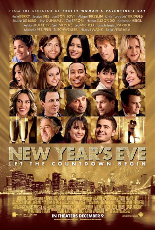 New Year's Eve Large Poster