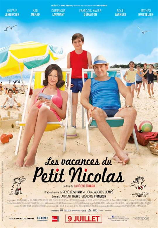 Nicholas on Holiday Large Poster