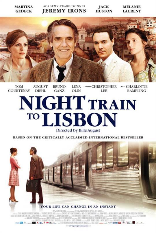 Night Train to Lisbon Large Poster