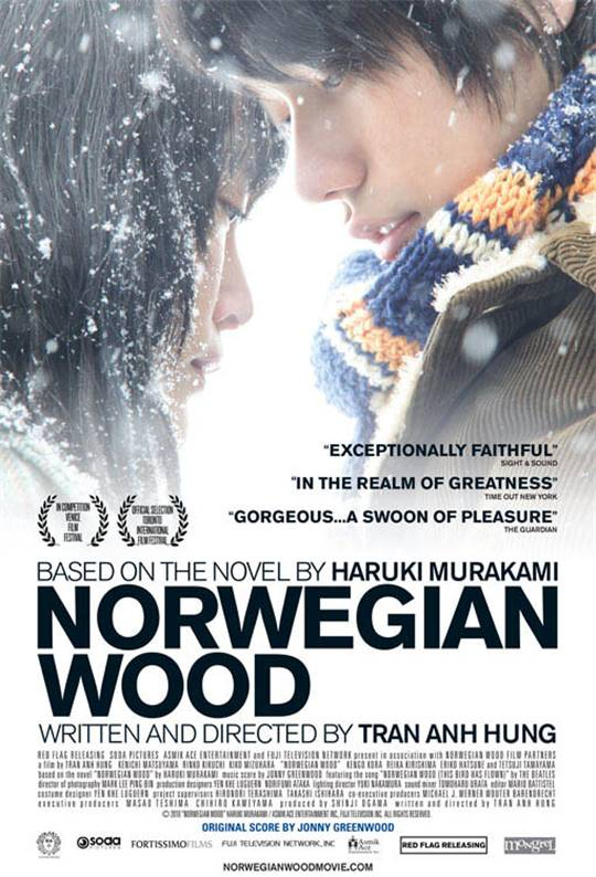 Norwegian Wood Large Poster
