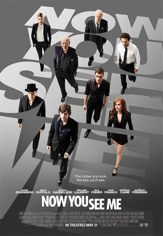 Now You See Me Large Poster