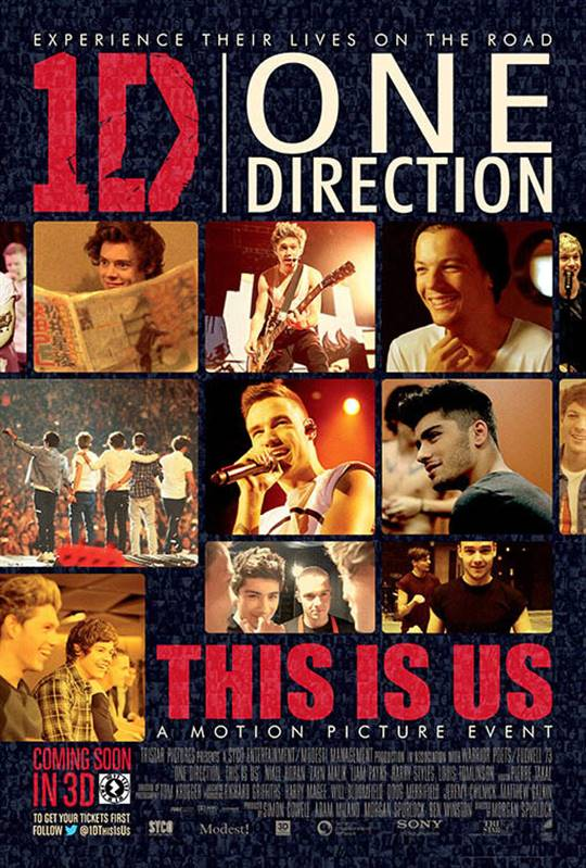 One Direction: This is Us Large Poster