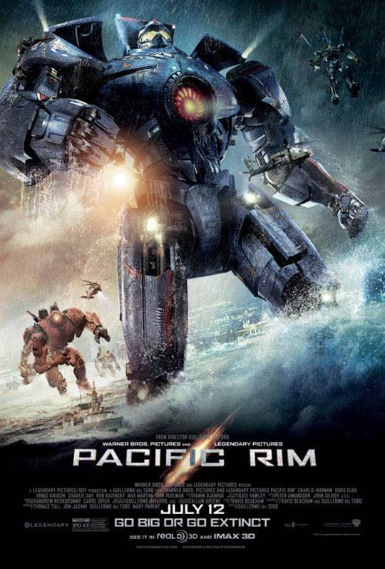 Pacific Rim Large Poster