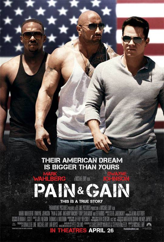 Pain & Gain Large Poster
