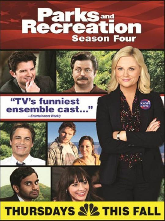 Parks and Recreation: Season Four Large Poster