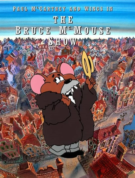 Paul McCartney's The Bruce McMouse Show Large Poster