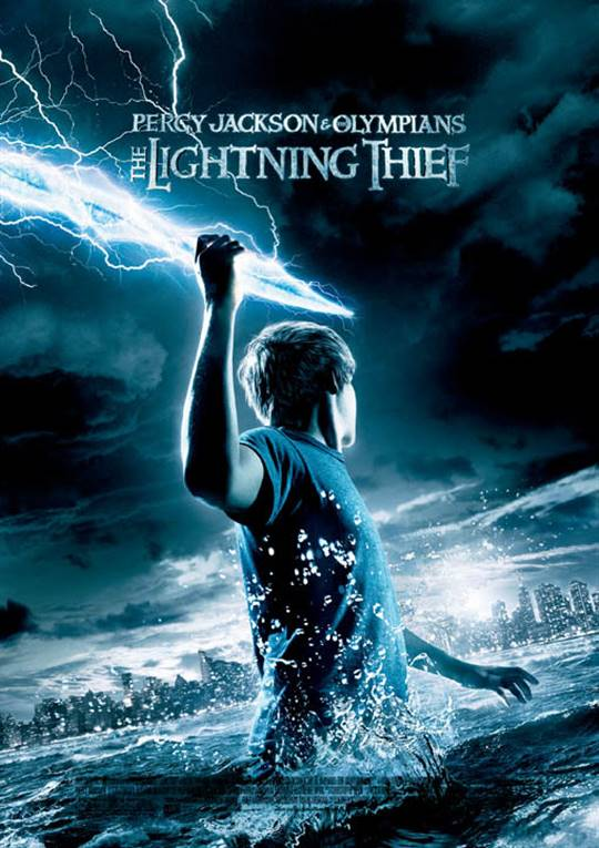 Percy Jackson & The Olympians: The Lightning Thief Large Poster