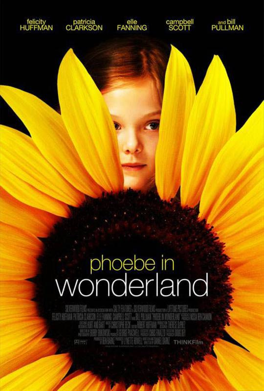 Phoebe in Wonderland Large Poster