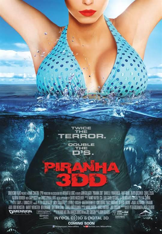 Piranha 3DD Large Poster