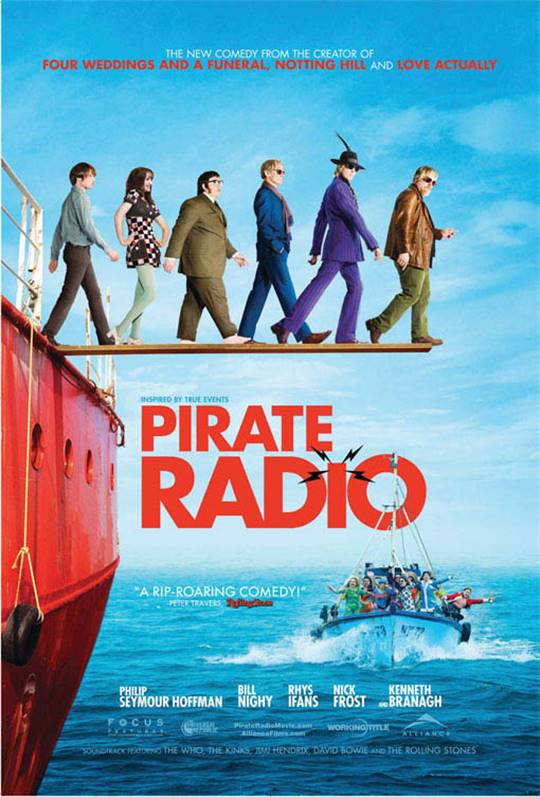 Pirate Radio Large Poster