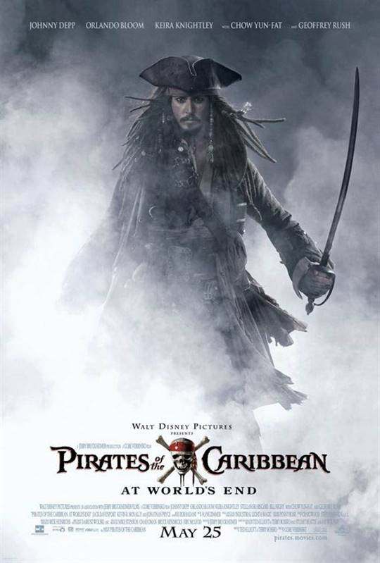 Pirates of the Caribbean: At World's End Large Poster