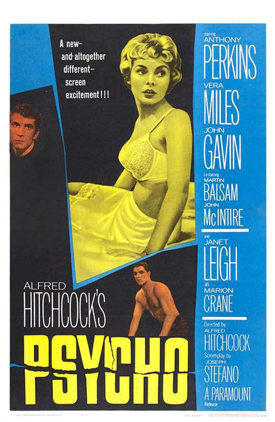 Psycho (1960) Large Poster
